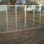 Brána dvoukřídlá, šíře 400 cm