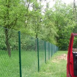 Pletivový plot 160 cm + základová deska pod zahradní domek