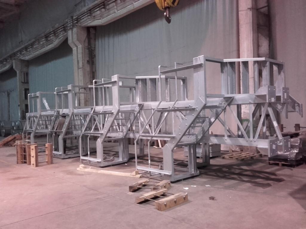 Předmontáž schodiště