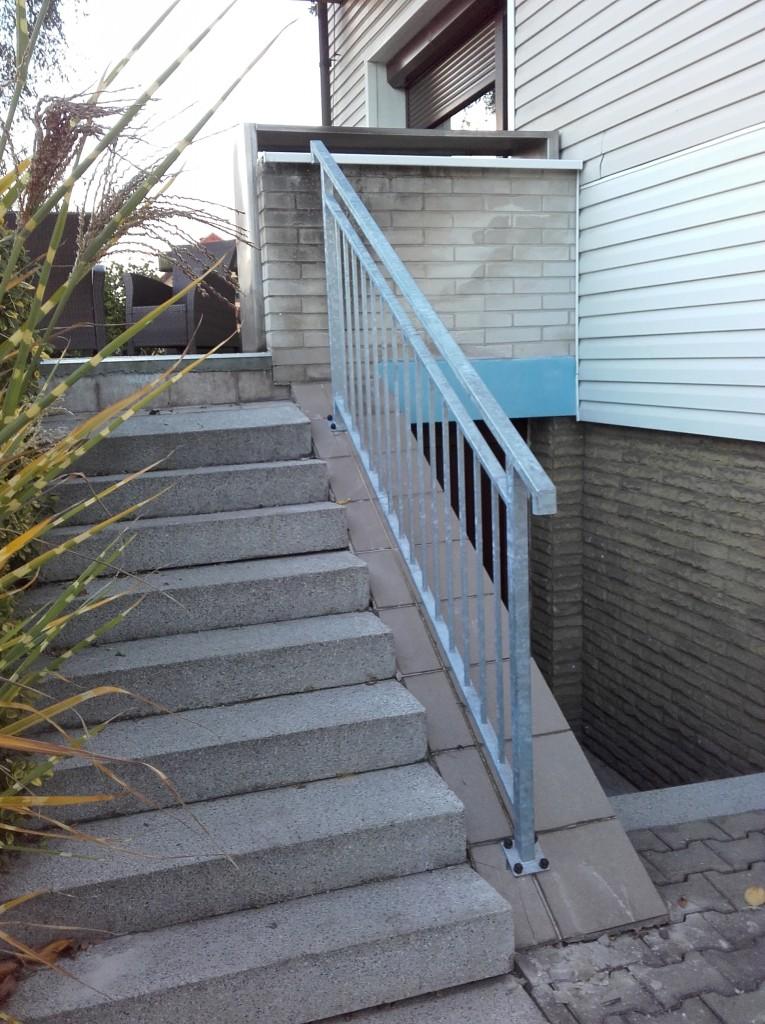Zábradlí na schodišti Vratimov