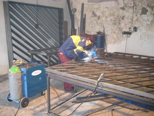 Výroba ocelových bran - Švédsko