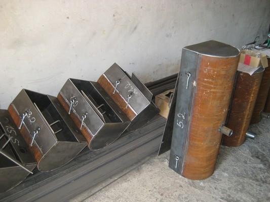 Výroba ocelových koryt