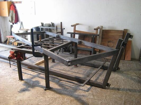 Výroba tabule pro Arrows Ostrava